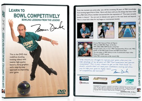 Learn To Bowl Competitively Instructional DVD